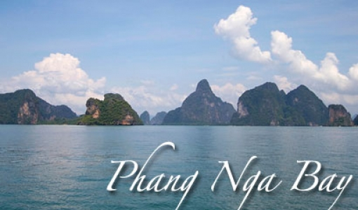Islands of Phang Nga Bay, Thailand