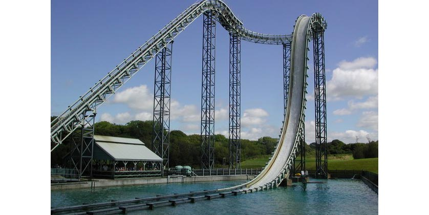 Oakwood Theme Park in Pembrokeshire, United Kingdom
