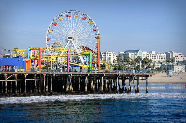 Picture of the Santa Monica Pier