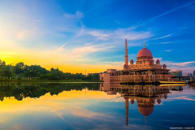 Putra Mosque Reflection