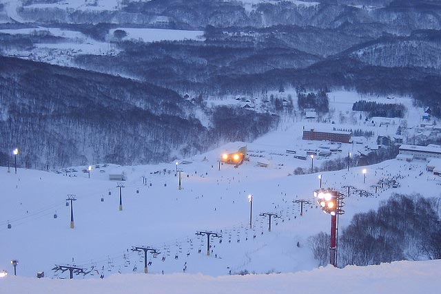 Niseko at evening