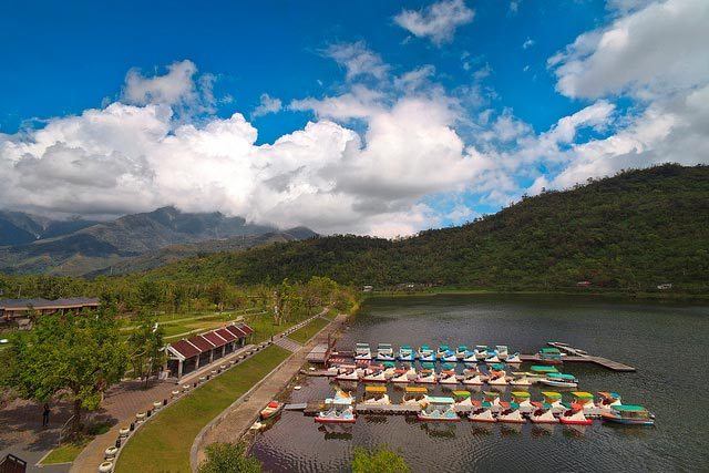 Liyu Lake in Hualien County, Taiwan