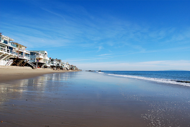 Beach in Malibu, California, USA