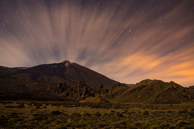 Mount Teide in the Canary Islands, Spain