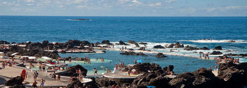 Natural Swimming Pools in Porto Moniz, Madeira