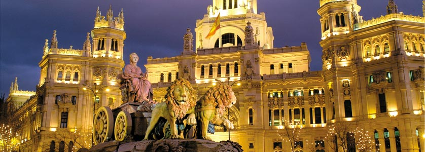 Cibeles and town hall in Madrid