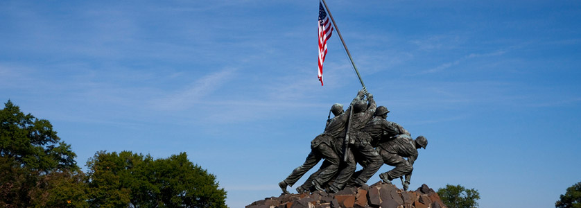 Marine Corps War Memorial (also called the Iwo Jima Memorial)